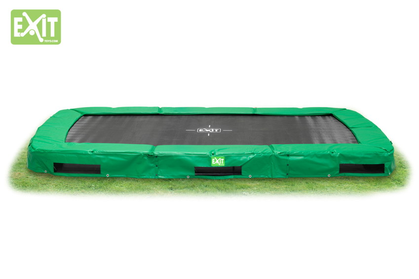 Kinder-Trampolin EXIT InTerra Rectangular Trampolin