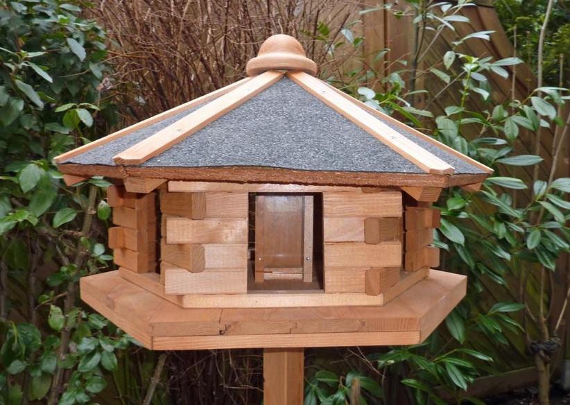 holz vogelhaus promadino fehmarn vogelh uschen. Black Bedroom Furniture Sets. Home Design Ideas