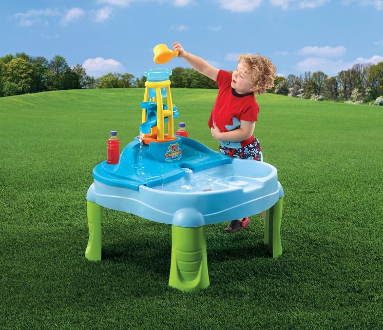 wasser spieltisch step 2 splash scoop bay wassertisch. Black Bedroom Furniture Sets. Home Design Ideas