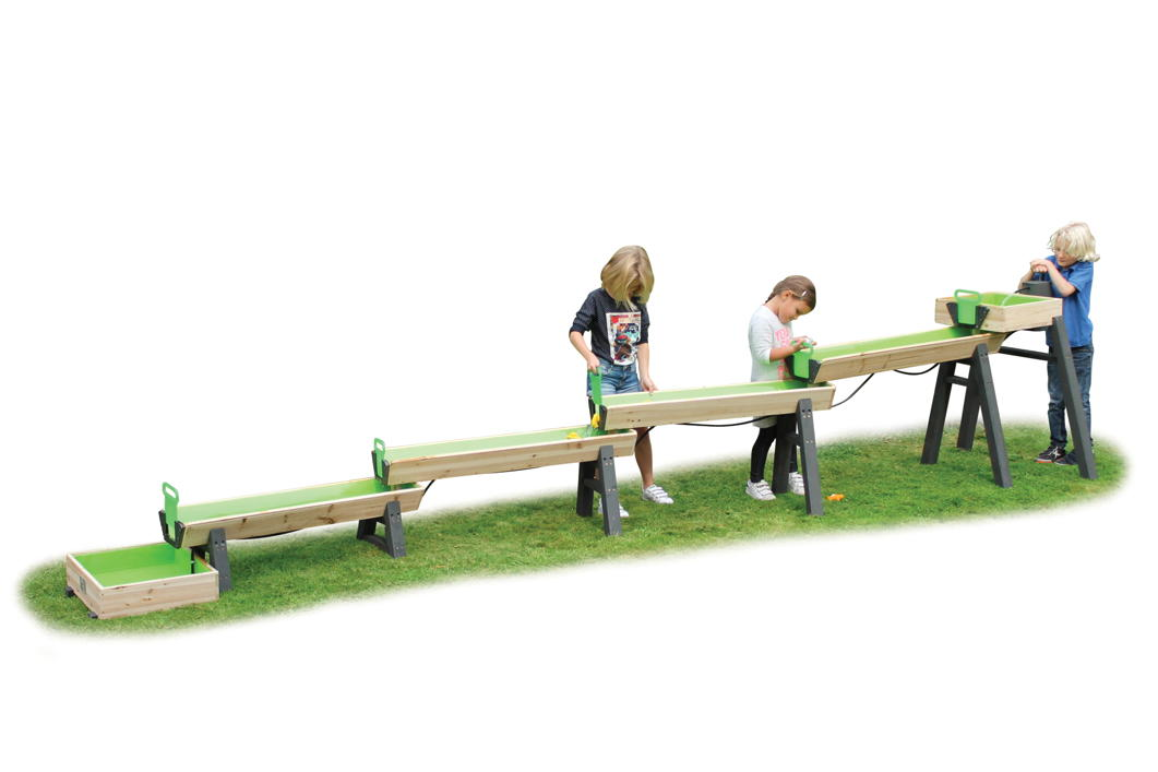 wasserstrasse exit aqua flow junior spiel wasser set spielstrasse kinderspielger te f r den. Black Bedroom Furniture Sets. Home Design Ideas