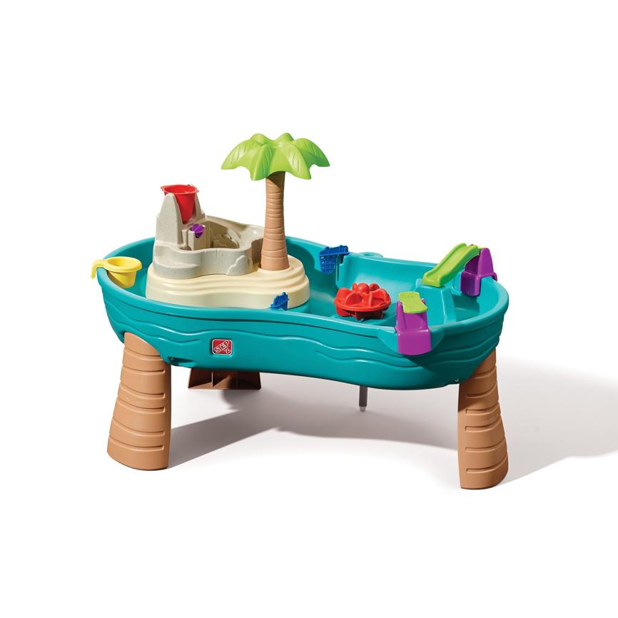 wasser spieltisch step 2 splish splash wassertisch sandkasten holz angebot. Black Bedroom Furniture Sets. Home Design Ideas