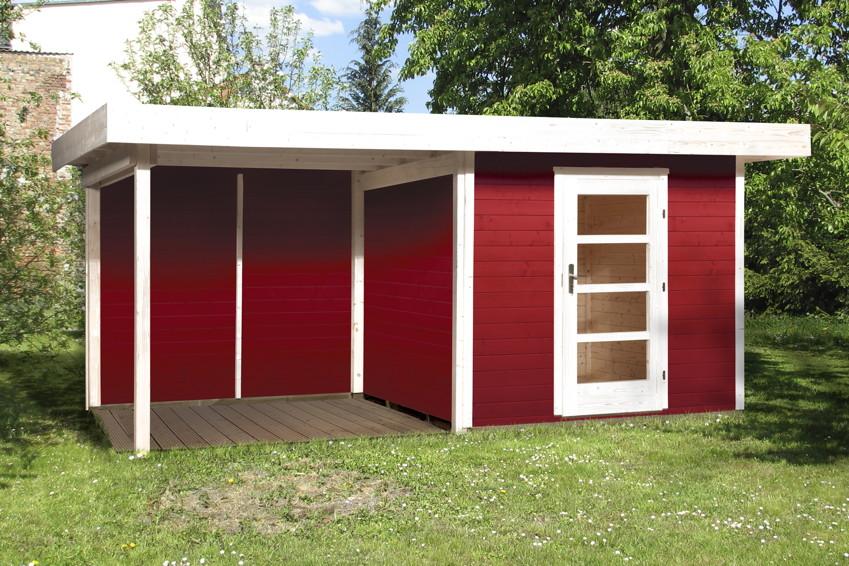 karibu gartenhaus aus holz g nstig kaufen im shop von holz. Black Bedroom Furniture Sets. Home Design Ideas