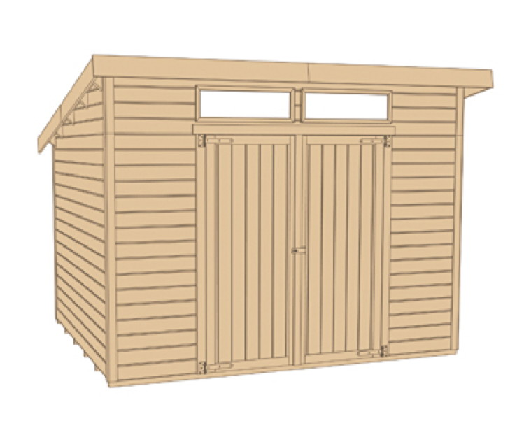 gartenhaus holz flachdach selber bauen. Black Bedroom Furniture Sets. Home Design Ideas