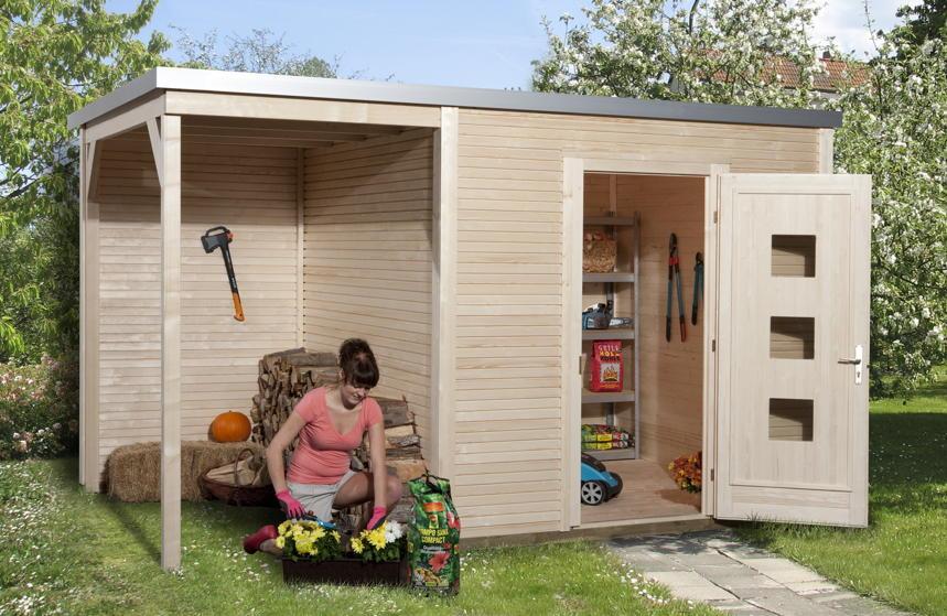 gartenhaus flachdach weka quadro flachdach haus mit seitlichem anbau gartenhaus aus holz. Black Bedroom Furniture Sets. Home Design Ideas