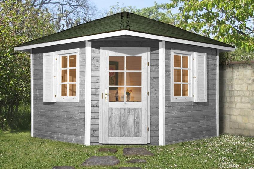 weka gartenhaus mediterrana 5 eck my blog. Black Bedroom Furniture Sets. Home Design Ideas