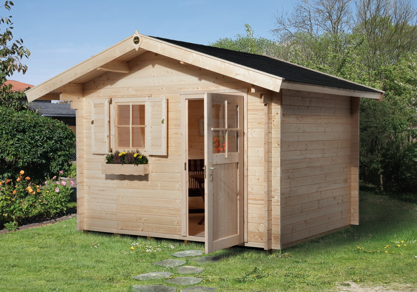 gartenhaus holz bausatz my blog. Black Bedroom Furniture Sets. Home Design Ideas