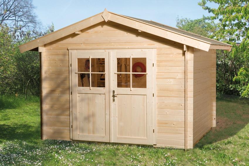 gartenhaus weka gartenhaus 112 holz haus bausatz doppelt r gartenhaus aus holz g nstig. Black Bedroom Furniture Sets. Home Design Ideas