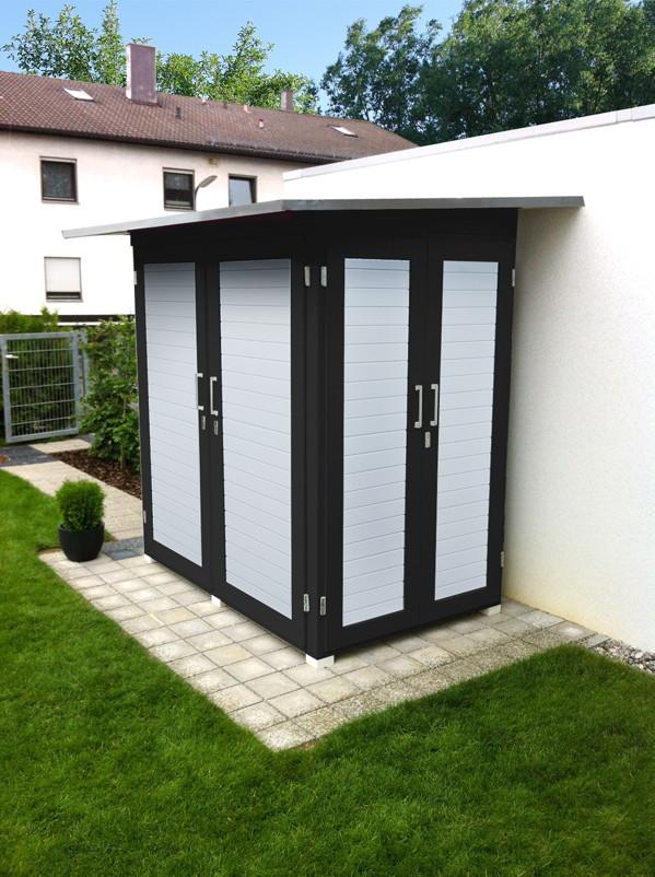 mulltonnenbox aus holz gunstig. Black Bedroom Furniture Sets. Home Design Ideas