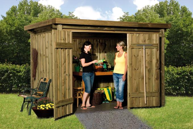 Mulltonnenbox aus holz gunstig - Gunstig gartenhaus bauen ...