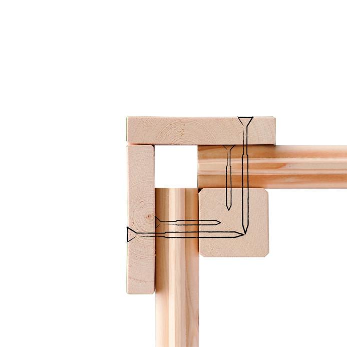 gartenhaus woodfeeling aktionshaus pultdach garten. Black Bedroom Furniture Sets. Home Design Ideas