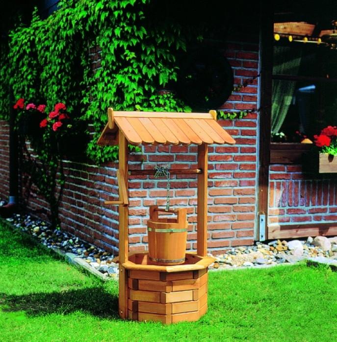 zierbrunnen promadino n rnberg holzzierbrunnen gartendekoration zierbrunnen brunnen. Black Bedroom Furniture Sets. Home Design Ideas