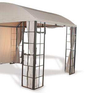 metallpavillon kosteng nstig und schnell installiert. Black Bedroom Furniture Sets. Home Design Ideas