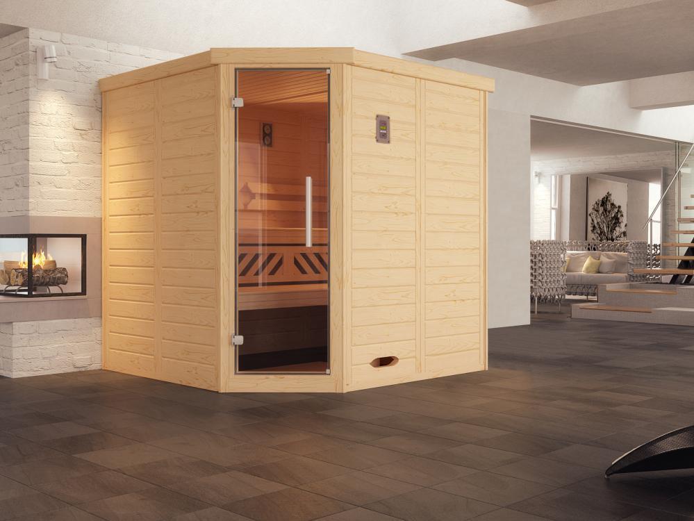 design sauna 528 glast r gr 1 bios dampfbad kombi ofen. Black Bedroom Furniture Sets. Home Design Ideas