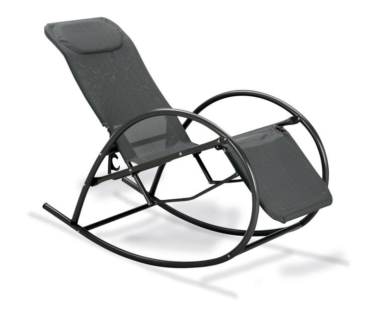siena garden liegestuhl saseo relax eisengrau metall. Black Bedroom Furniture Sets. Home Design Ideas