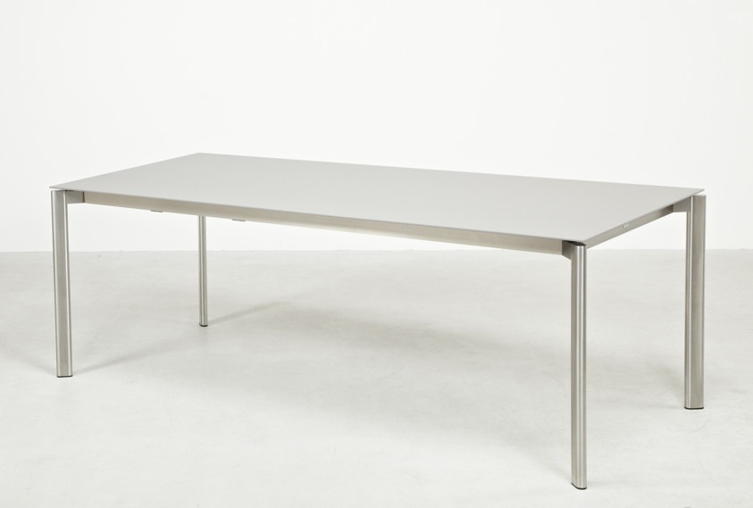 Ausziehtisch Gartentisch FISCHER ?Swing? Tisch 95x150 Keramik, Synchronauszug