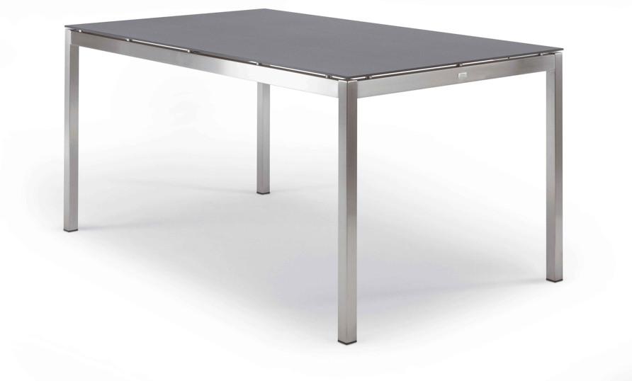 FISCHER ?Modena Collection? Tisch 180x90 Keramiktisch mit Edelstahlgestell