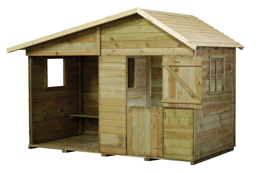 kinderspielhaus holz schwedenhaus. Black Bedroom Furniture Sets. Home Design Ideas