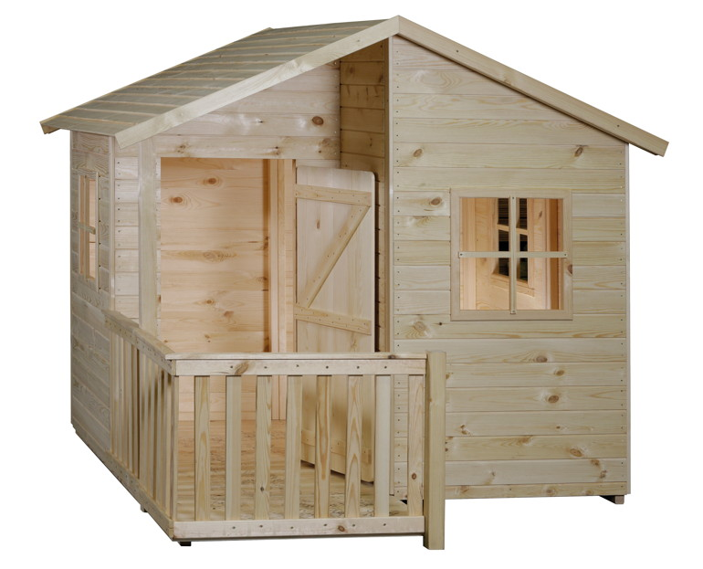 kinder spielhaus bear county jolly park kinderspielhaus holz ebay. Black Bedroom Furniture Sets. Home Design Ideas