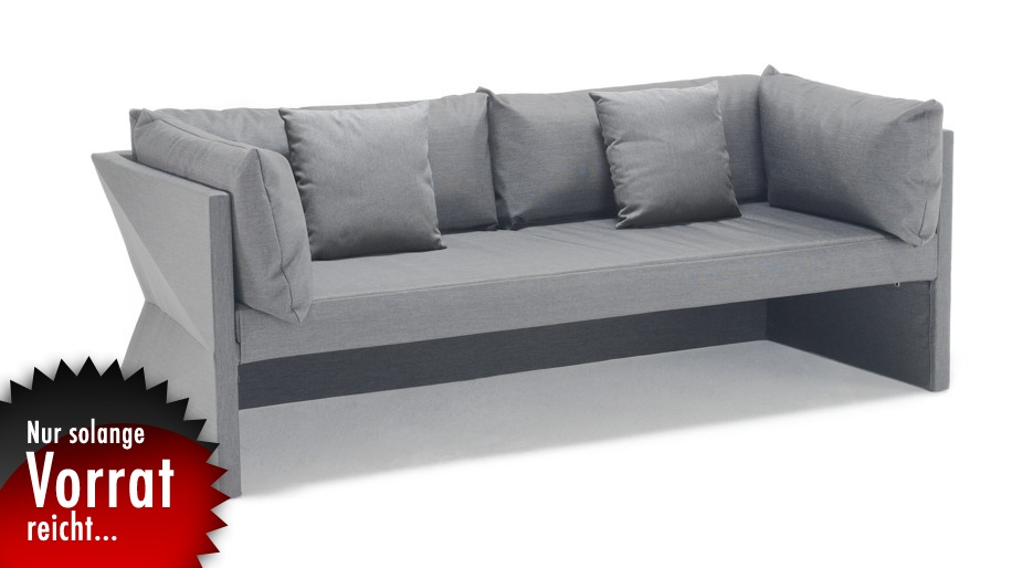 gartenbank solpuri saphir 3 sitzer sofa ebay. Black Bedroom Furniture Sets. Home Design Ideas