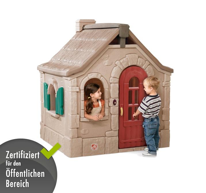 kinder spielhaus step 2 f rsterhaus kinderhaus. Black Bedroom Furniture Sets. Home Design Ideas