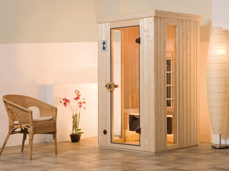 infrarotkabine weka trend 1 w rmekabine. Black Bedroom Furniture Sets. Home Design Ideas