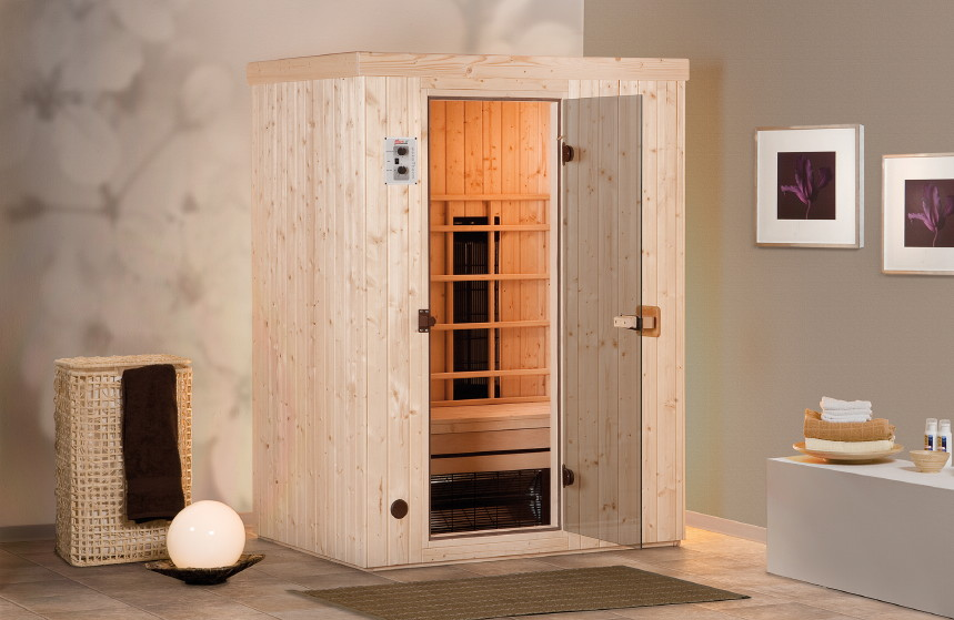 infrarotkabine weka classic 2 w rmekabine ebay. Black Bedroom Furniture Sets. Home Design Ideas