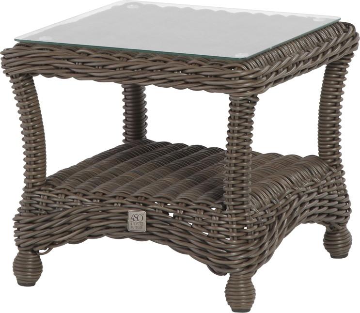 polyrattan tisch beistelltisch rattan teetisch gartentisch terrasse preise und rabatt angebote. Black Bedroom Furniture Sets. Home Design Ideas