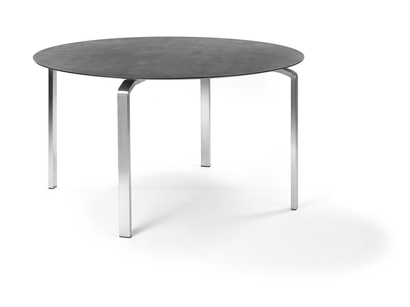Gartentisch FISCHER ?Kyoto? Tisch ?115, Edelstahlgestell, Keramiktischplatte