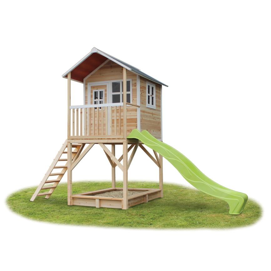 Holz Kinder Spielhaus Hohes Stelzen Kinderspielhaus Stelzenhaus