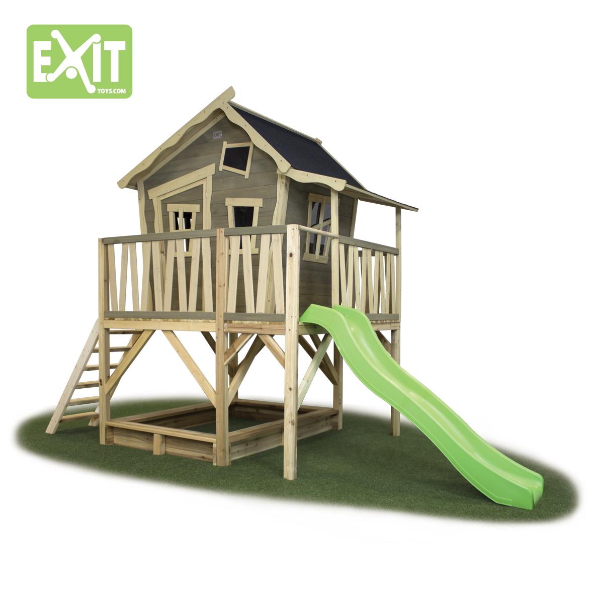 sandkasten exit aksent xl sandkiste aus holz mit abdeckung. Black Bedroom Furniture Sets. Home Design Ideas