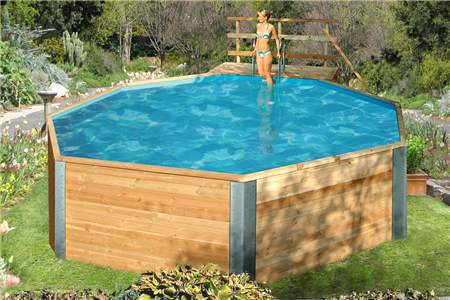 holzpool weka kreta schwimmbecken aus holz swimmin kreta gr e 1 ebay. Black Bedroom Furniture Sets. Home Design Ideas