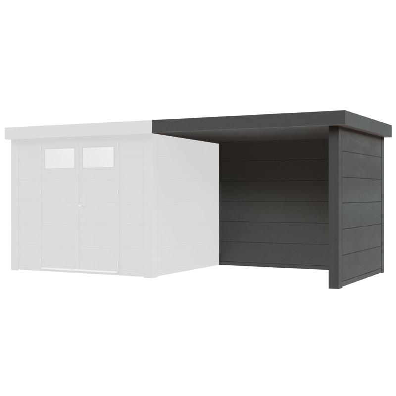 gartenhaus wolff finnhaus eleganto 3024 mit lounge rechts metallger tehaus holz angebot. Black Bedroom Furniture Sets. Home Design Ideas