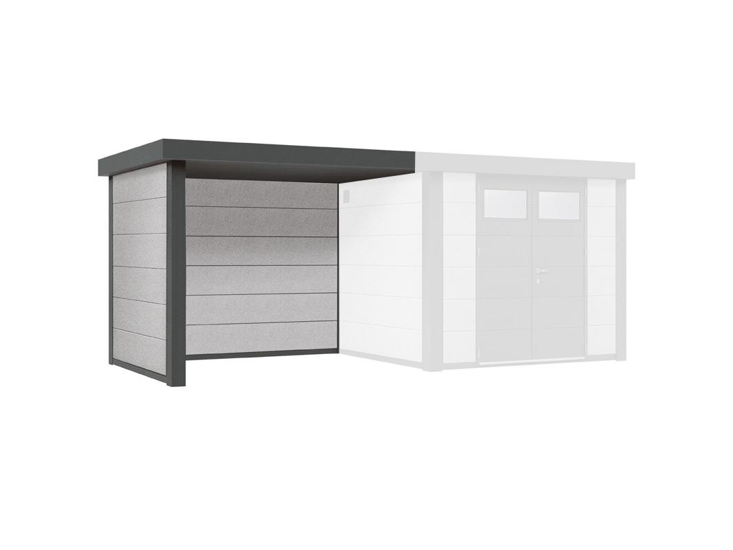 gartenhaus wolff finnhaus eleganto 3024 mit lounge links metallger tehaus vom garten fachh ndler. Black Bedroom Furniture Sets. Home Design Ideas