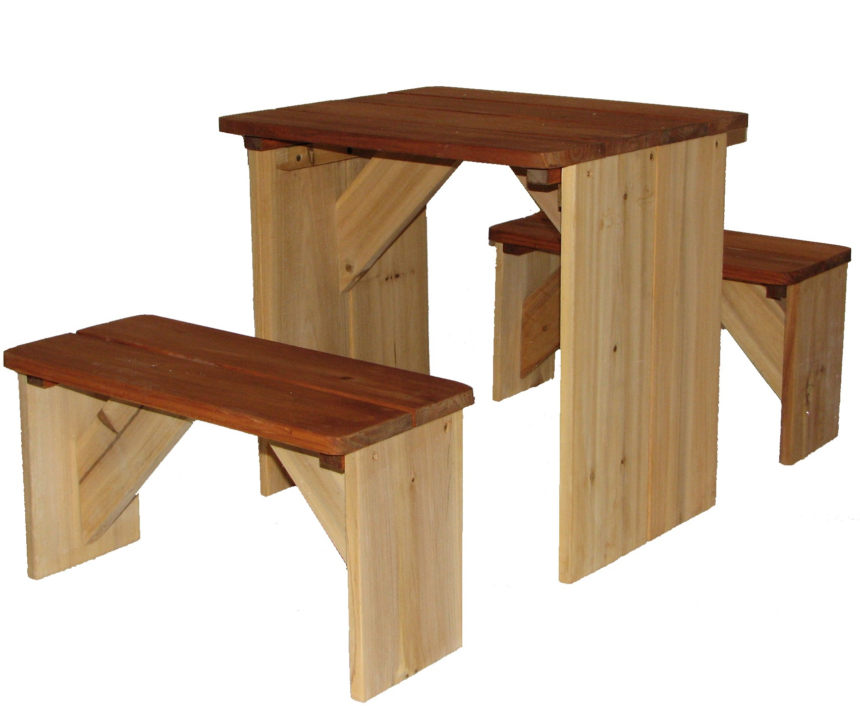 kinder picknickbank axi zidzed kinderbank holz sitzgruppe kinderspielger te f r den garten. Black Bedroom Furniture Sets. Home Design Ideas