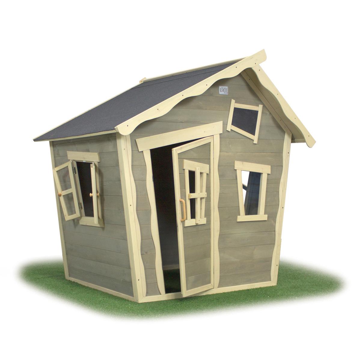 kinder spielhaus exit crooky 100 kinderspielhaus. Black Bedroom Furniture Sets. Home Design Ideas