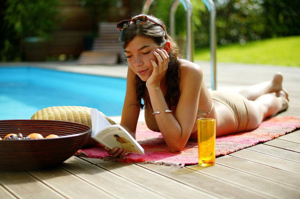 Holzpool octa5 rund schwimmbecken folie hellgrau for Gartenpool ebay