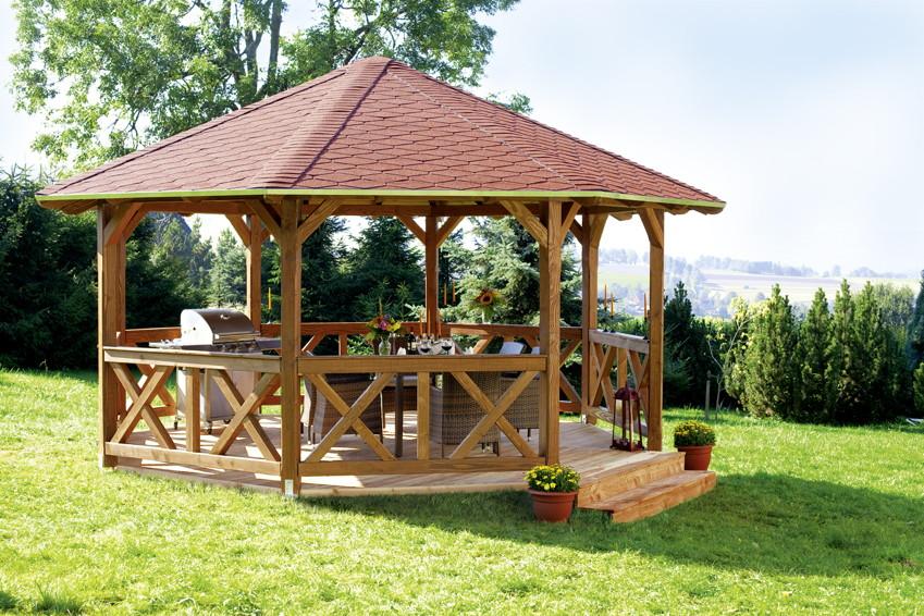Pavillon Selber Bauen gartenpavillon selber bauen vivaverde co