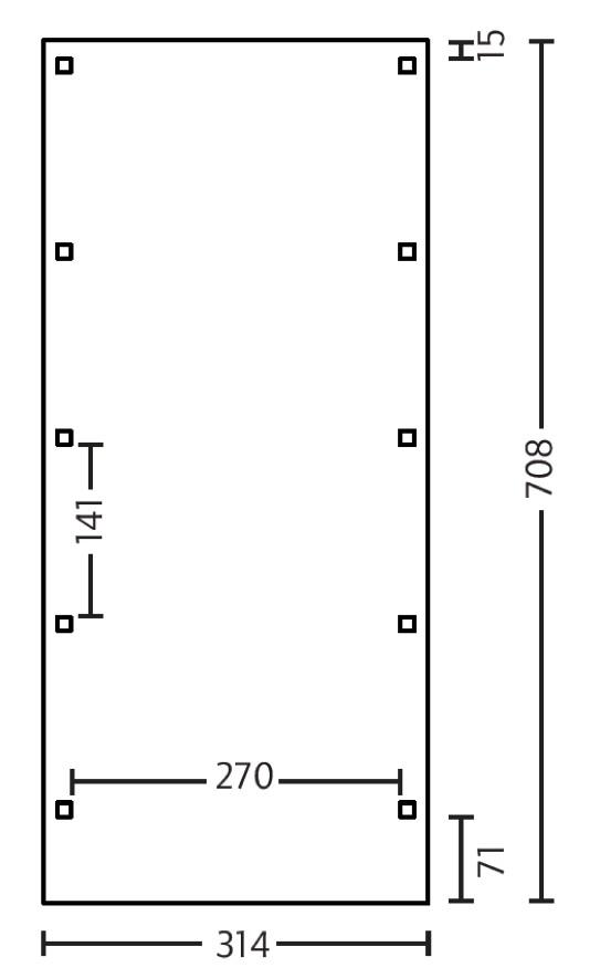 holz carport bausatz skanholz friesland holzdach flachdach einzelcarport holz angebot. Black Bedroom Furniture Sets. Home Design Ideas