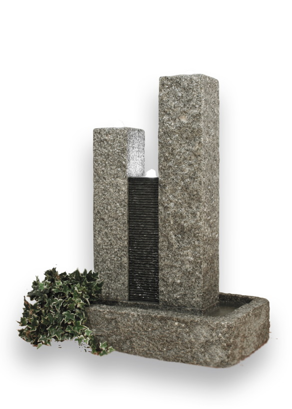 wasserspiel springbrunnen garten vertrieb garten. Black Bedroom Furniture Sets. Home Design Ideas