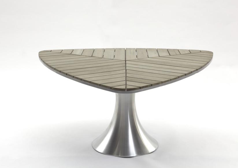 Diamond Sofa Dining Table WoodTEC :: B: 160cm, T: 154cm, H: 75cm Sie erhalten das Produkt in der ...