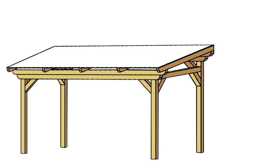 TerrassenUberdachung Holz Bausatz GUnstig ~ Terrassenüberdachung Holz Bausatz SKANHOLZ «Sanremo» freistehend