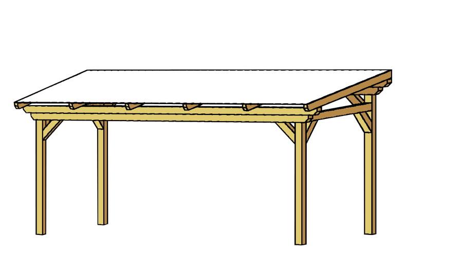terrassen berdachung holz bausatz skanholz sanremo freistehend terrassendach ebay. Black Bedroom Furniture Sets. Home Design Ideas