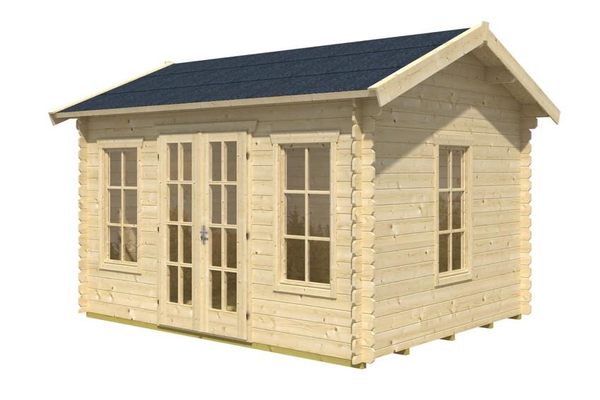 gartenhaus skanholz milano blockbohlen holzhaus mit fenster und doppelt r gartenhaus aus. Black Bedroom Furniture Sets. Home Design Ideas