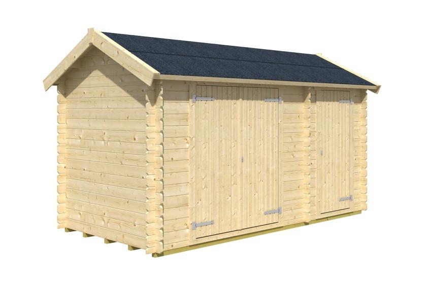 gartenhaus skanholz flexi abstellschupppen ger tehaus. Black Bedroom Furniture Sets. Home Design Ideas