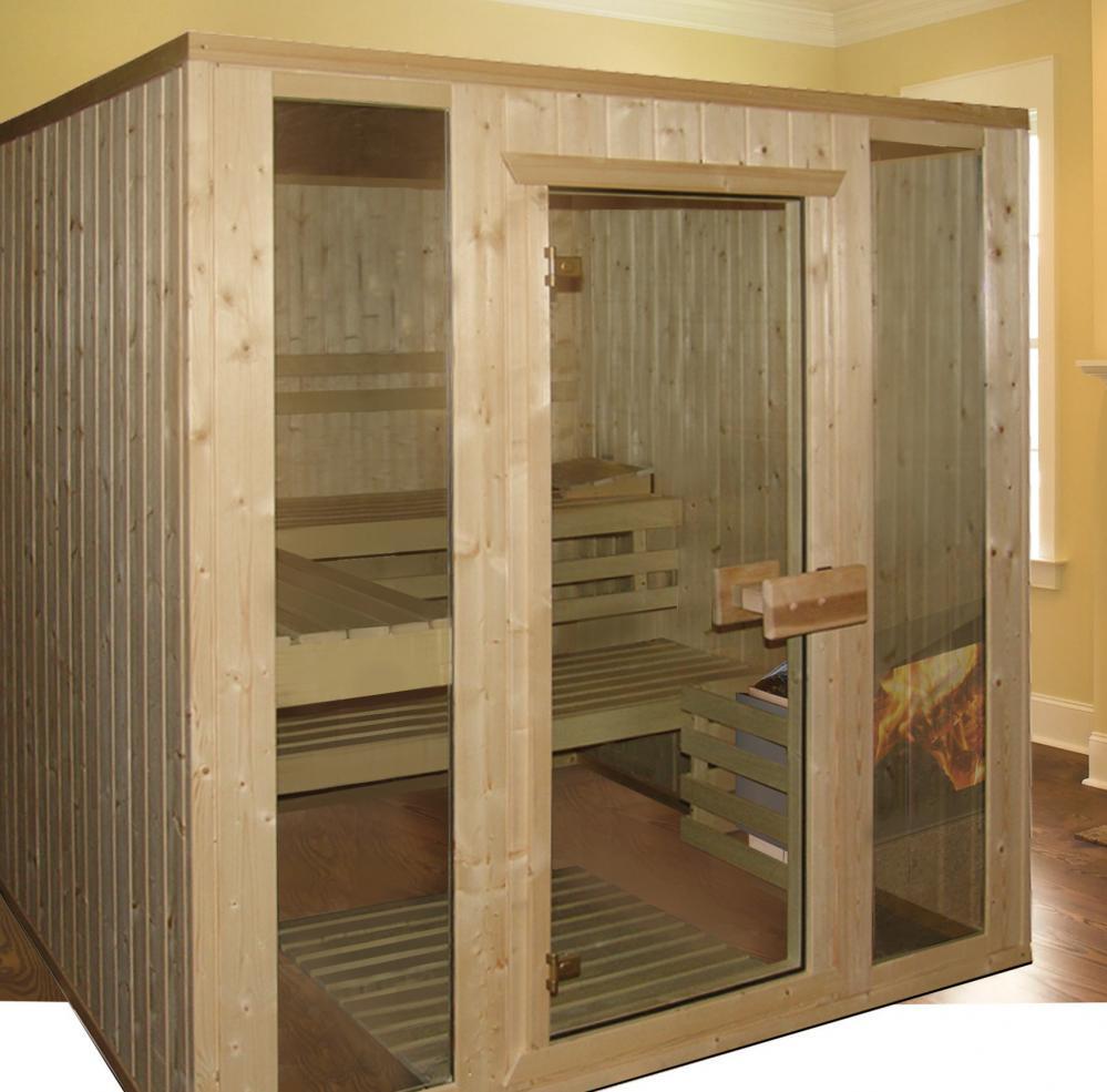 heimsauna helo family aaro sauna massivholzsauna. Black Bedroom Furniture Sets. Home Design Ideas