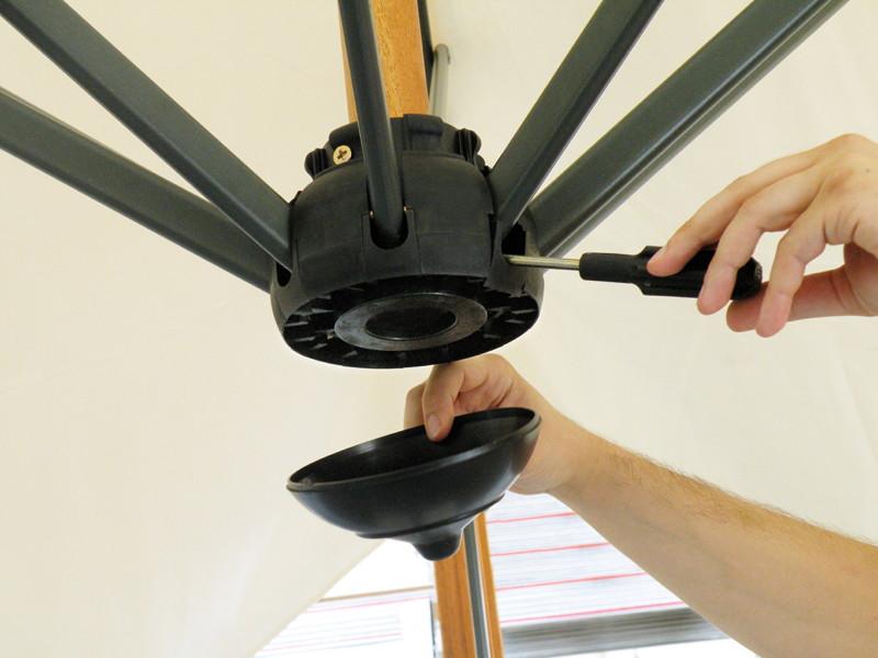 sonnenschirm scolaro galileo maxi 4x4 ampelschirm ebay. Black Bedroom Furniture Sets. Home Design Ideas