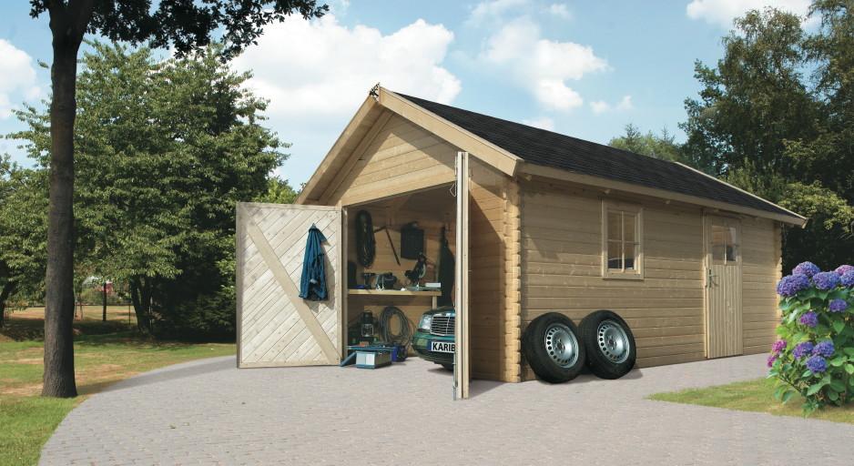 garage-karibu-einzel-holzgarage-40-mm