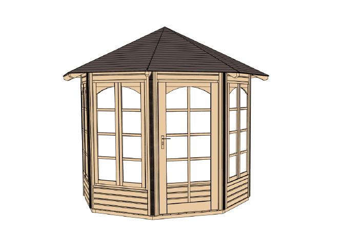 garagen aus holz g nstig kaufen im shop von holz. Black Bedroom Furniture Sets. Home Design Ideas
