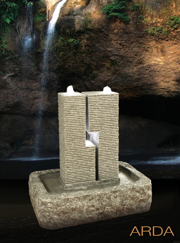 garten springbrunnen diamond garden arda granit ebay. Black Bedroom Furniture Sets. Home Design Ideas