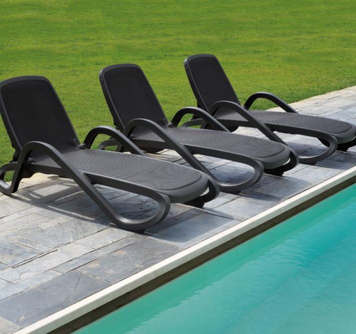 gartenliege nardi alfa liege ebay. Black Bedroom Furniture Sets. Home Design Ideas